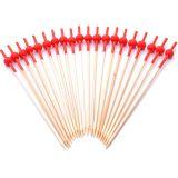 Conjunto de Espetos Utility 20 pçs 12 cm Vermelho
