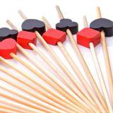 Conjunto de Espetos Utility 20 pçs 12 cm Vermelho e Preto