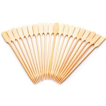 Conjunto de Espetos Utility 20 pçs 15 cm Bambu Welf Utility