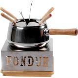 Fondue Wood 10 Pçs