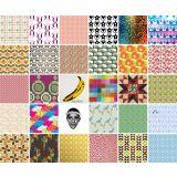 Adesivo de Parede Azulejo Mix Colorido Color Kit Com 32 peças - X4 adesivos