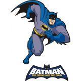 Adesivo de Parede Infantil X4 Adesivos Batman Retro Colorido  QI105 P