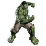 Adesivo de Parede Infantil X4 Adesivos Hulk Colorido  QI104 G