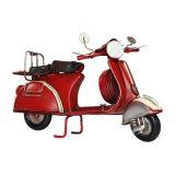 Mini Vintage Scooter P Classic ZD2442 Vermelho