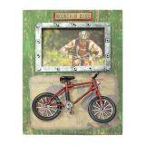 Porta Retrato Vintage Bicicleta ZD2426 Verde