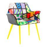 Cadeira Britto Landscape III Colorido