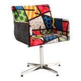 Cadeira Britto Loft Landscape I Colorido