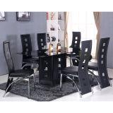 Conjunto de Mesa com 6 Cadeiras 150331 Preto