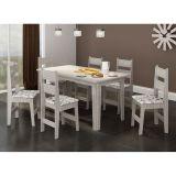 Conjunto de Mesa com 6 Cadeiras Fixa 1600X830 Teka