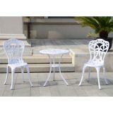 Conjunto de Mesa e 2 Cadeiras Yqa-837 Branco