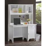 Escrivaninha Com Estante Sd5015 Branco