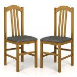 Kit 2 Cadeiras de Cozinha 400 Cerejeira