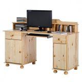 Mesa Para Computador Pinno Natureza Marrom