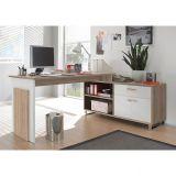Mesa Para Escritório desk Maxim Marrom
