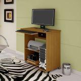 Mesa para Computador Compact Imbuia & Preto