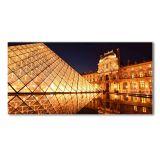Quadro Louvre  Paris 100x170 GrupoLush