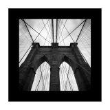 Quadro P&B Tower Bridge 45x45 GrupoLush
