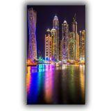 Quadro Skycrapers in Dubai I 140x82 GrupoLush