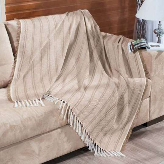 Manta para sof oslo 150x200 r fia 2465 for Mantas de lana para sofa