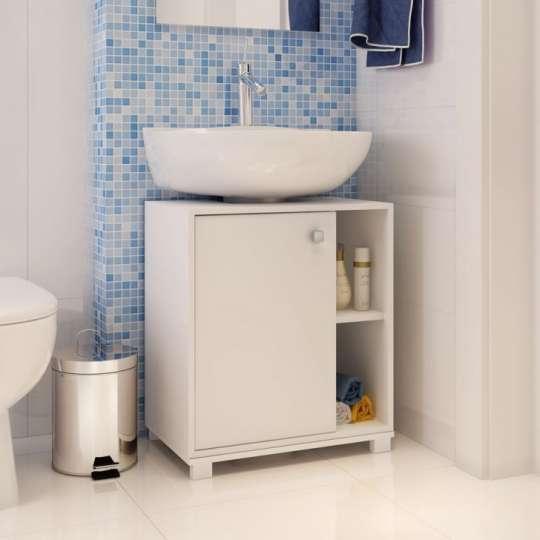 Moveis Banheiro Sp : Balc?o para banheiro porta bbn branco brv m?veis