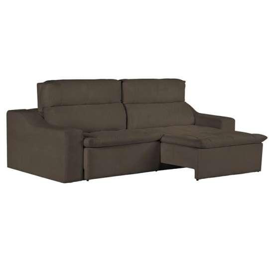 Sof 4 lugares retr til e reclin vel master pillow top for Sofa 4 lugares retratil e reclinavel caravaggio suede amassado marrom