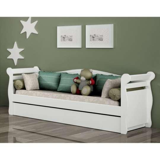 Bicama baba estilo sofa com cama auxiliar tcil for Sofa que vira beliche