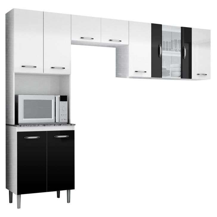 armario de canto para cozinha planejada