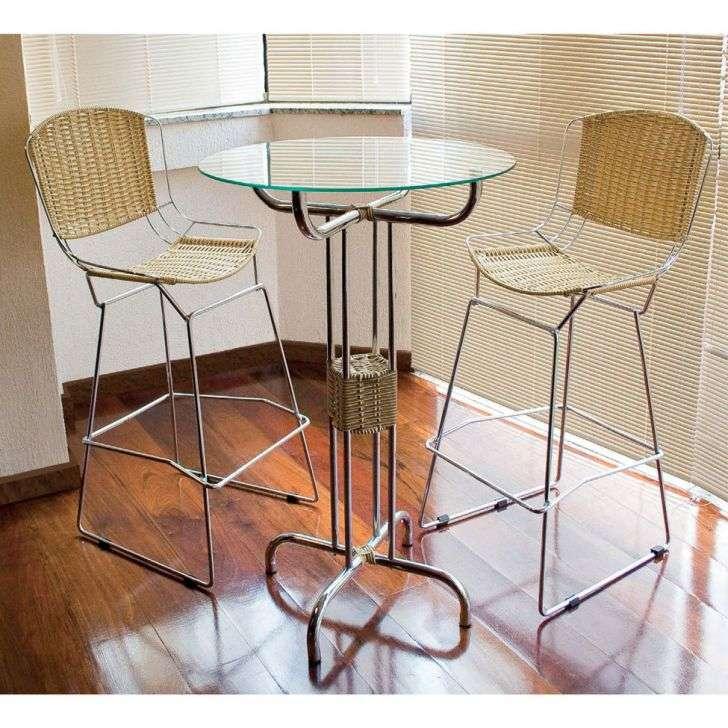 Conjunto de Mesa e Cadeira Julia 2 Cadeiras Criativa