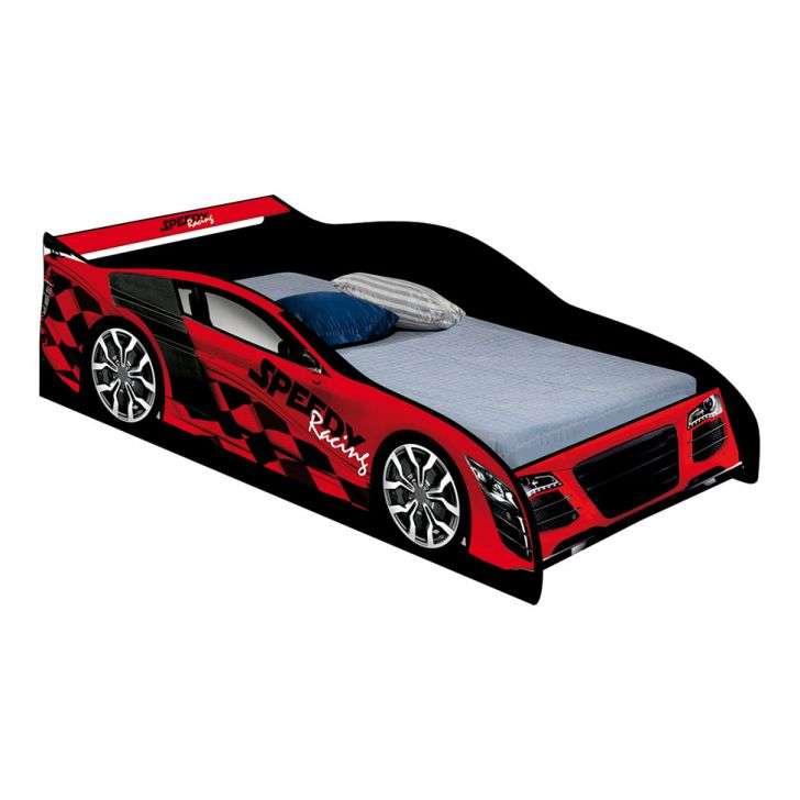 Cama carro solteiro speedy vermelho - Cama coche infantil ...
