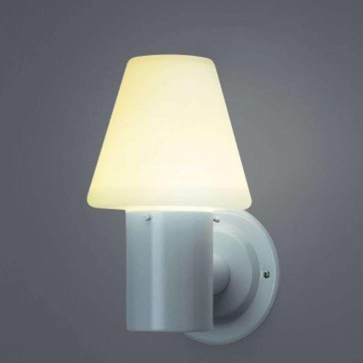 Arandela Ideal Iluminação Marte Branca 25cm X 13cm X 14cm - A-1230