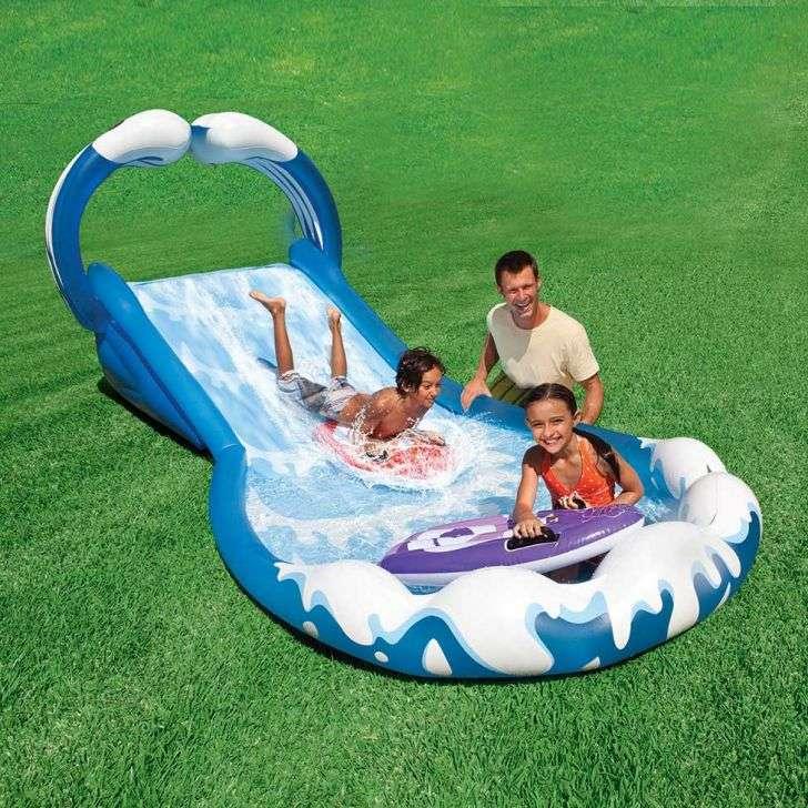 Escorregador inflável modelo Ondas 57469 Intex