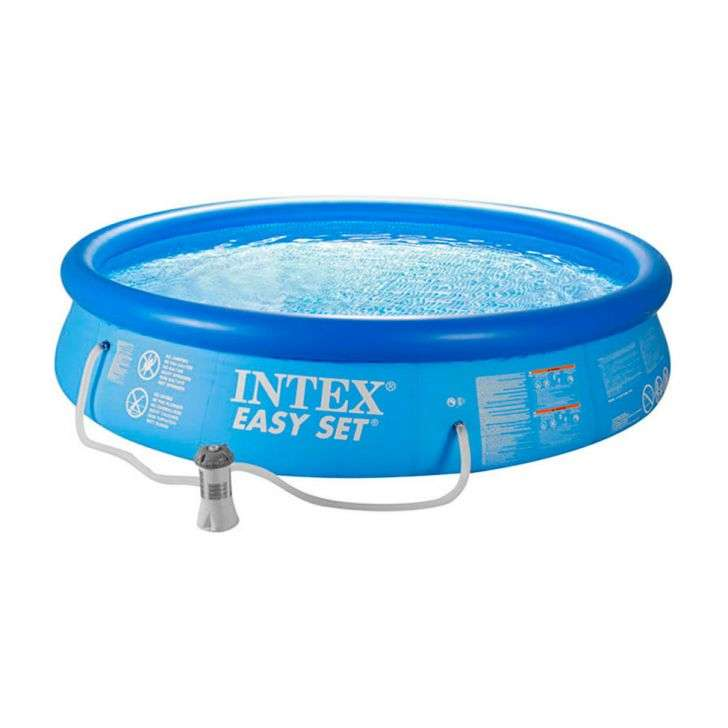 Piscina easy set 5621 litros 28130 intex for Piscina intex easy set