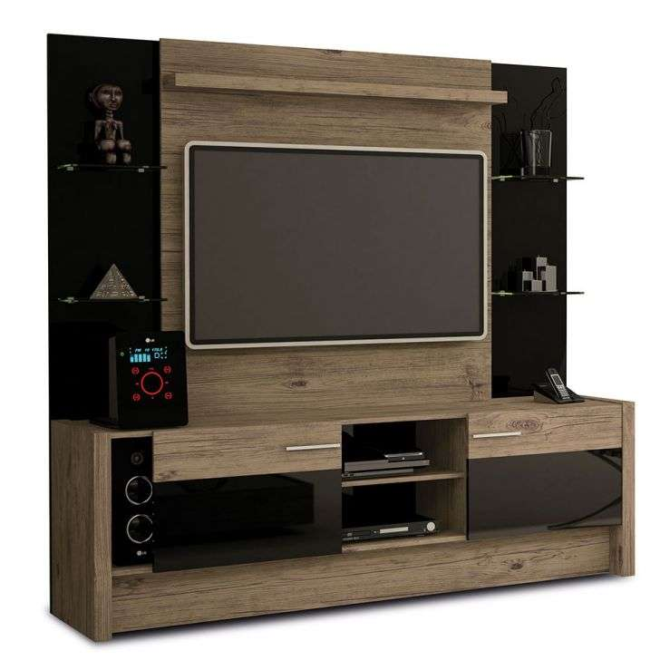Home Entertainment Spaces: Home Theater Space 5PT Nature & Preto