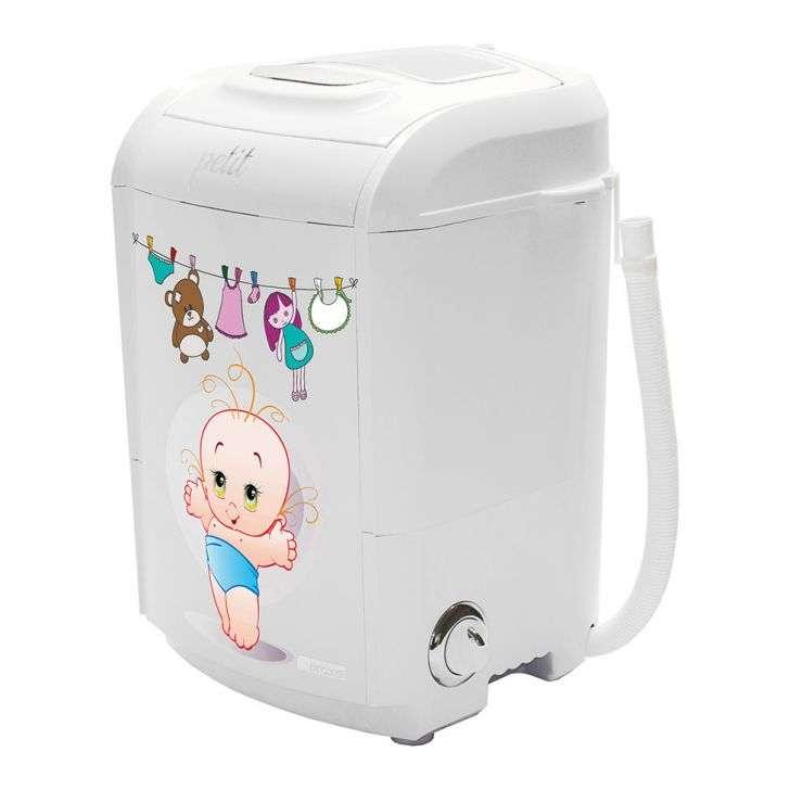 Lavadora de Roupa 1,2kg Branco Petit Bebê Praxis - 110v