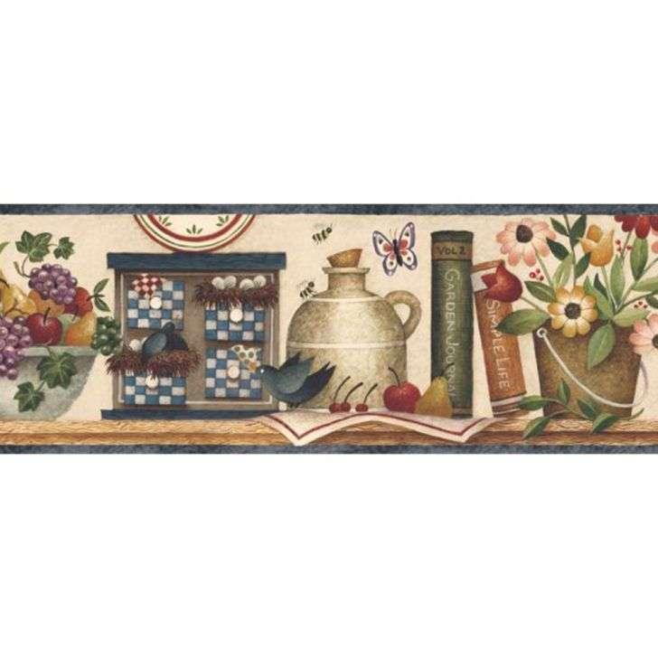 Border de Quarto de Bebê AZUL - Lindos Adesivos Decorativos