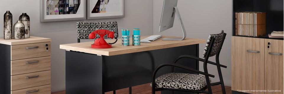 Mesa de escrit rio diversos modelos mobly - Mesas de escritorio ...