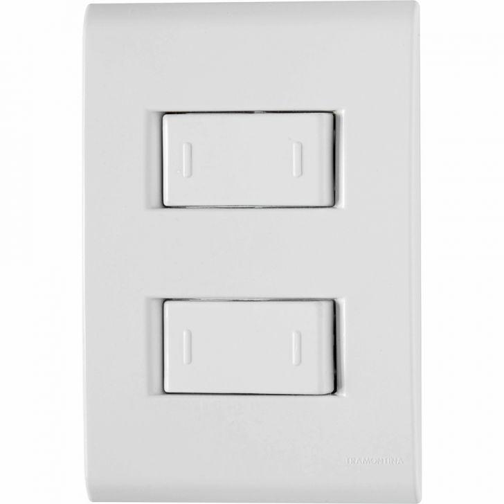 Conjunto 2 Interruptores Paralelos 10A-250V