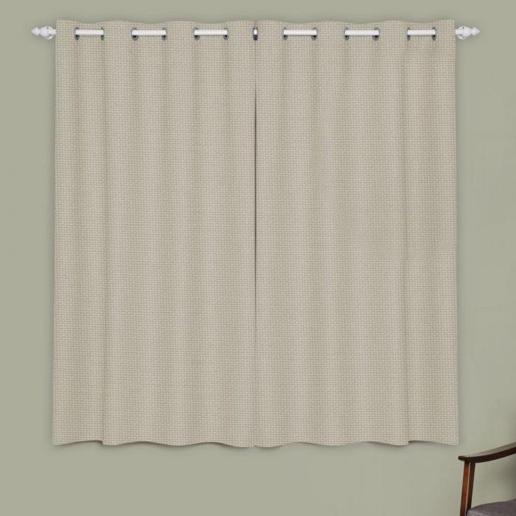 Cortina Oxford Marfim 28X23 Marka Textil Cod: