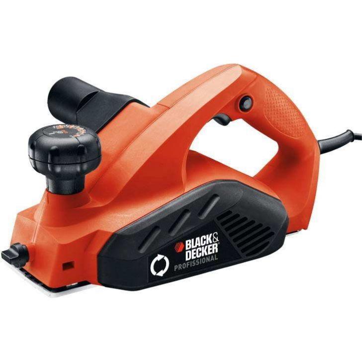 Plaina Black & Decker Profissional, 650 watts - 7698 - 220V
