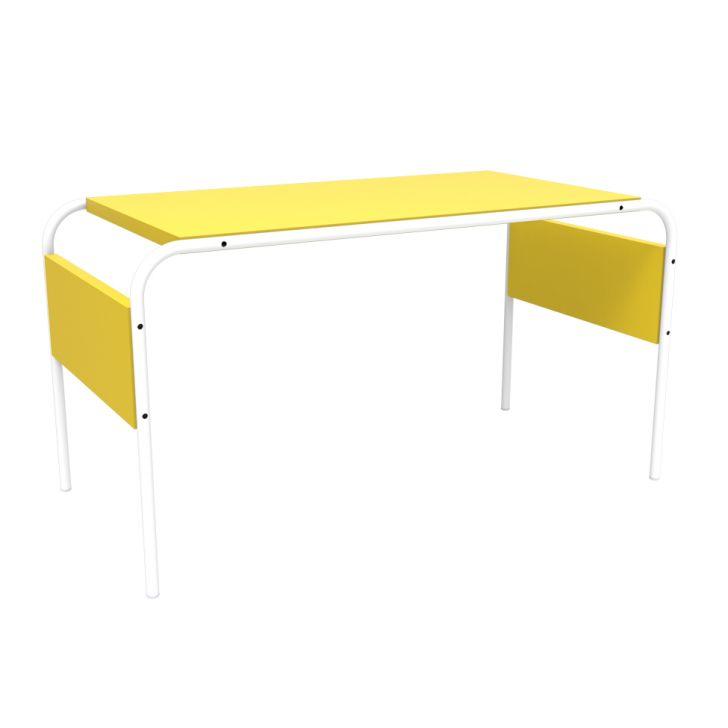 Escrivaninha Infantil Tutti Ragazzo Amarela