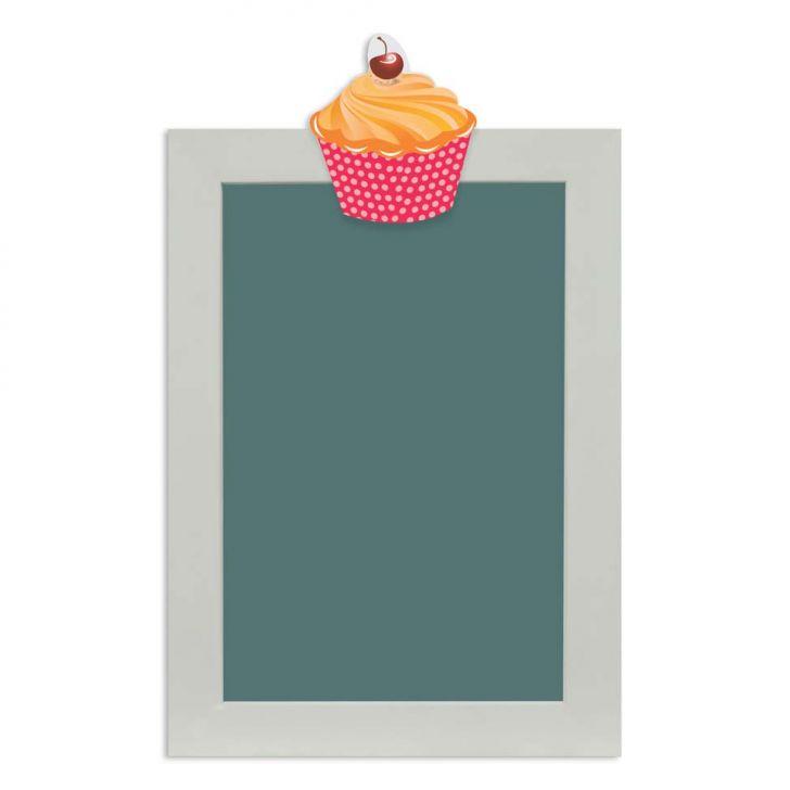 quadro-de-aviso-lousa-cupcake-ii-25x35cm-colorido-kapos
