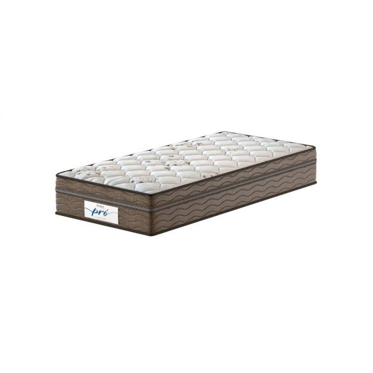 Colchão Solteiro Pro Comfort Molas Prolastic (28x88x188) Branco