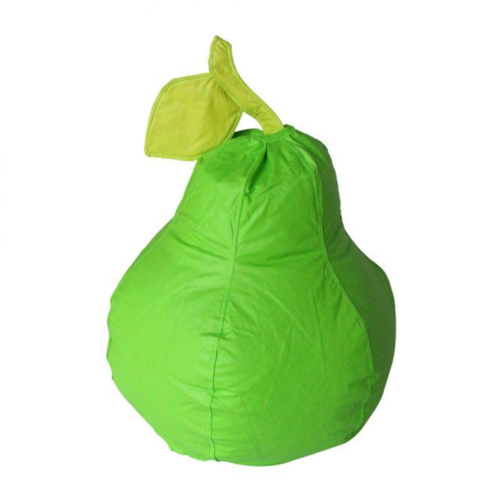 Puff Frutinha Pera Corino Verde