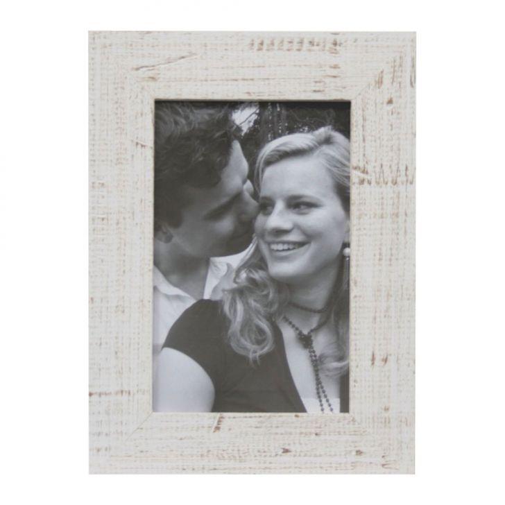 Porta-retratos Photo Frame 1 Foto 15x21 Branco Kapos 20x26