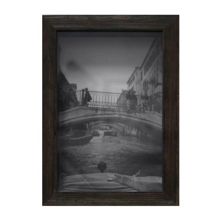 Porta Retrato Caixa Liso 10x15 Natural
