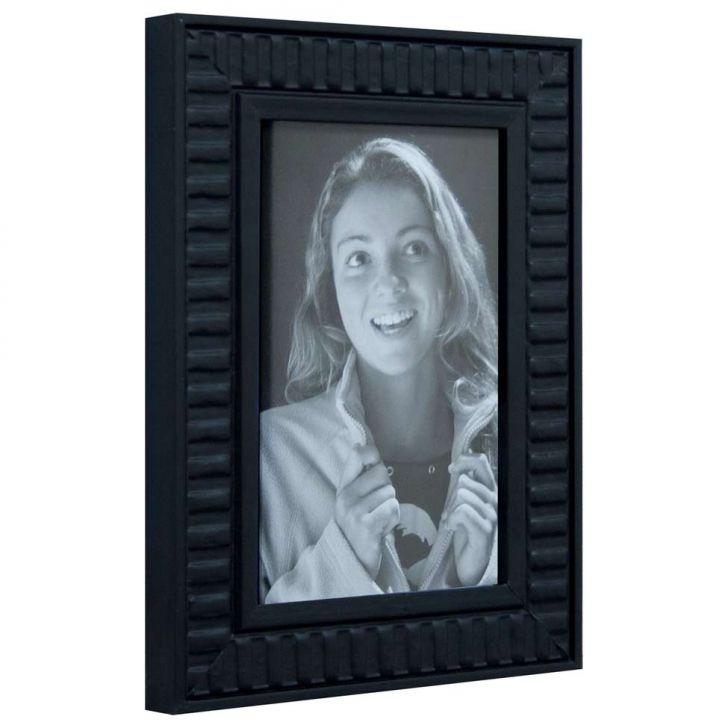 Porta Retrato De Mesa Para Foto 10x15 Cm Preto