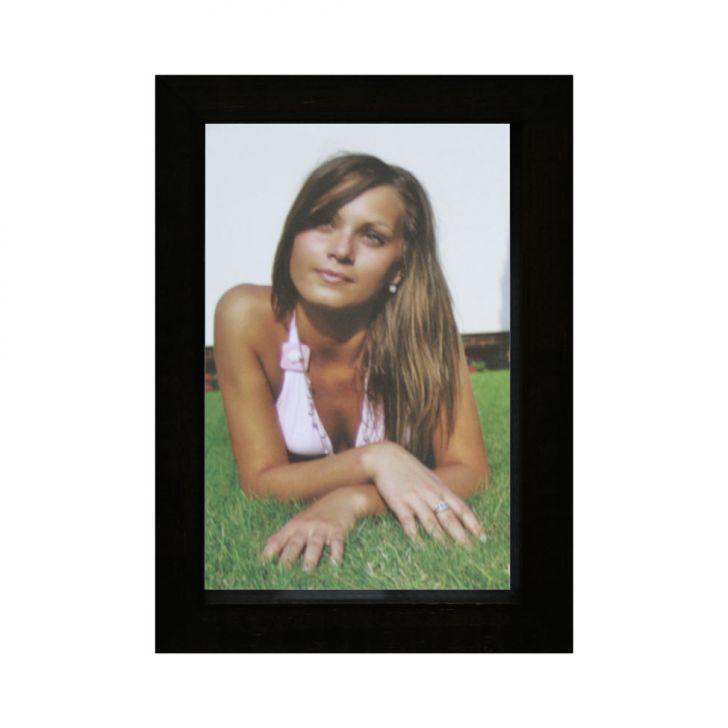 Porta-retrato Caixa Color Preto 15x21cm