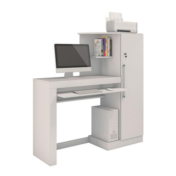 Mesa Para Computador Aroeira Branca