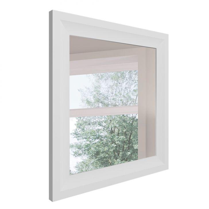 Espelho Decorativo Classe 85 X 80 Cm Branco
