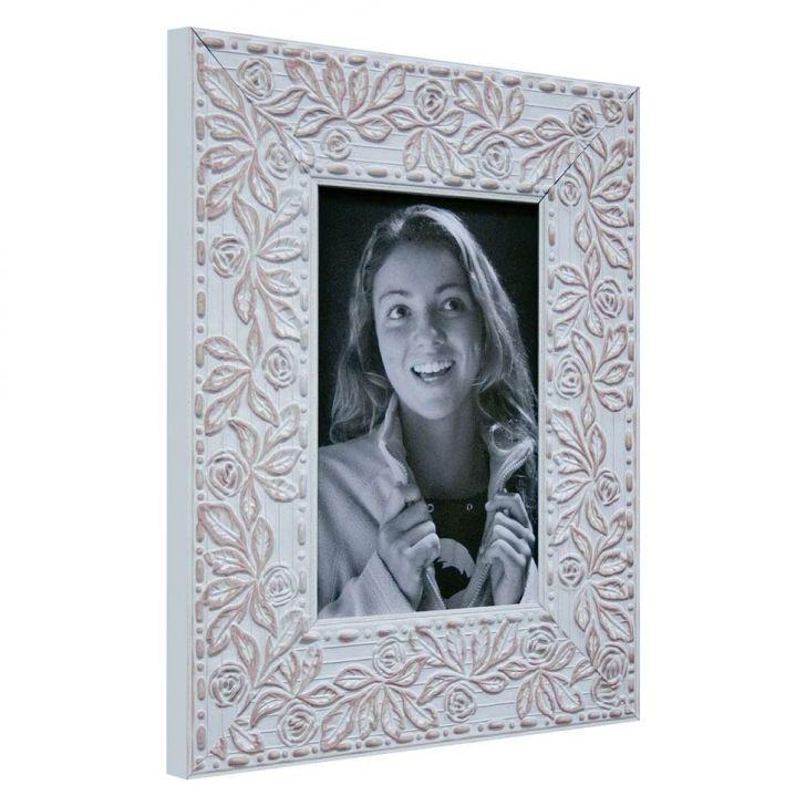 Porta Retrato De Mesa Para Foto 10x15 Cm Roses Ii